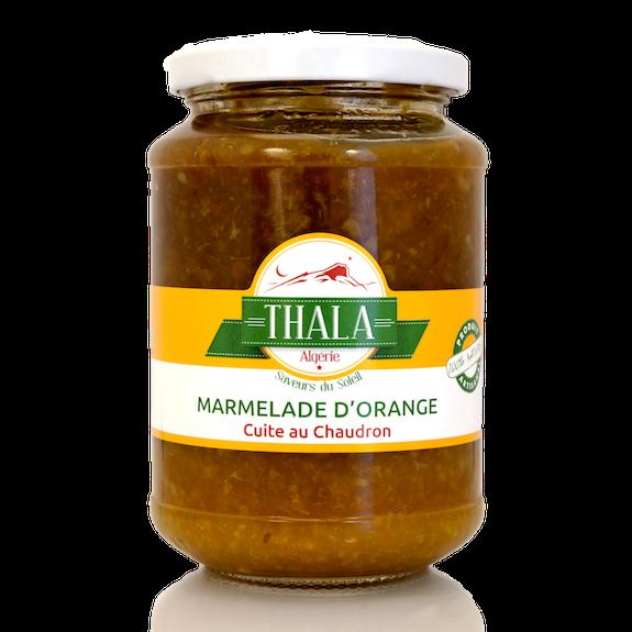 Marmelade d'Orange cuite au chaudron 350g Thala®