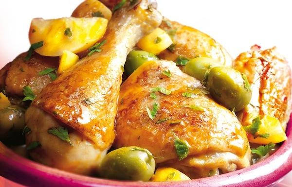 Tajine de poulet au Citrons Confits Thala®